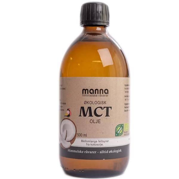 Bilde av Manna MCT olje 500 ml