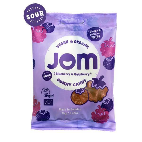 Bilde av JOM Sour Blueberry & Sour Raspberry 70 g