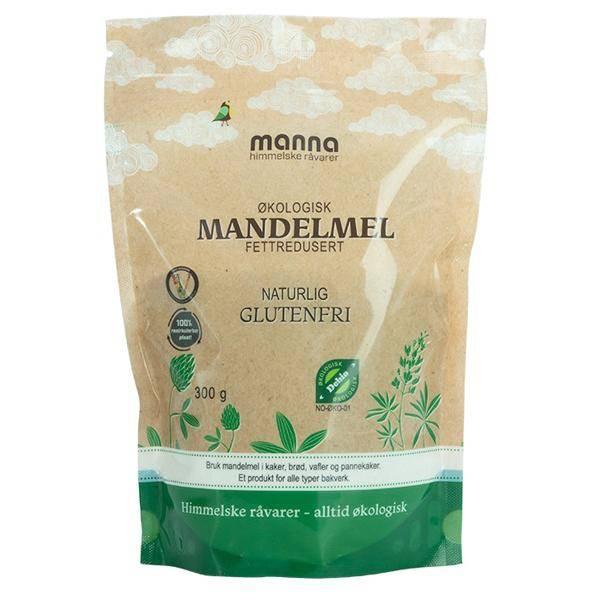 Bilde av Manna Mandelmel Fettredusert 300 gram