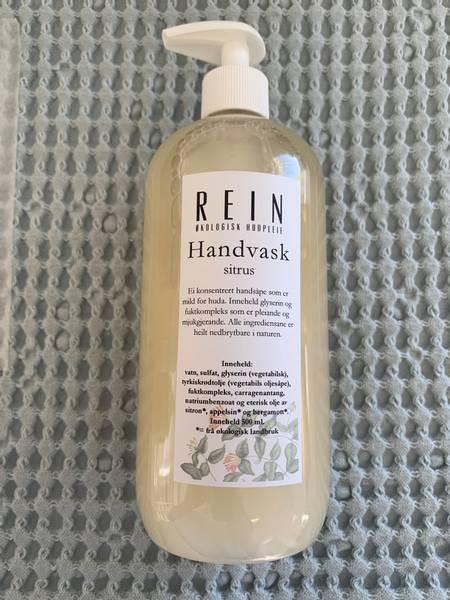 Bilde av *utsolgt* Rein håndvask 500 ml Sitrus