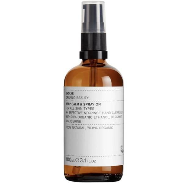 Bilde av EVOLVE Keep Calm & Spray on Organic Hand Sanitizer 100 ml
