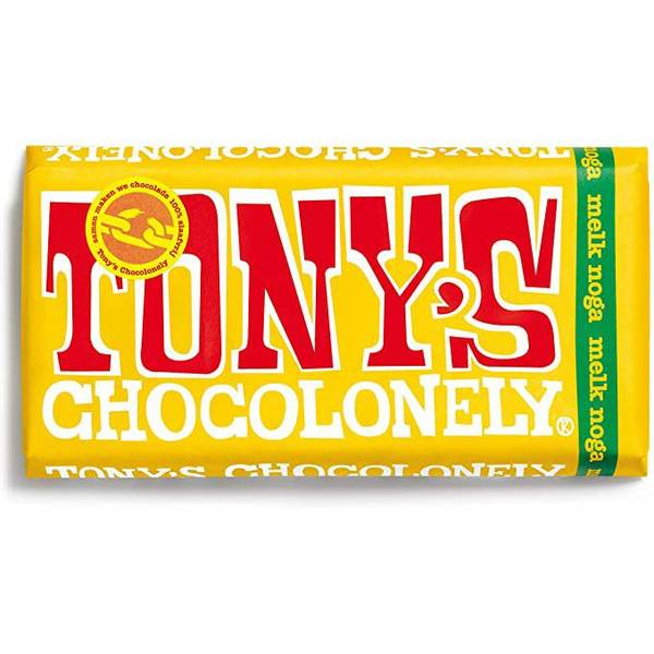 Bilde av Tony's Chocolonely Nougat melkesjokolade 180 g