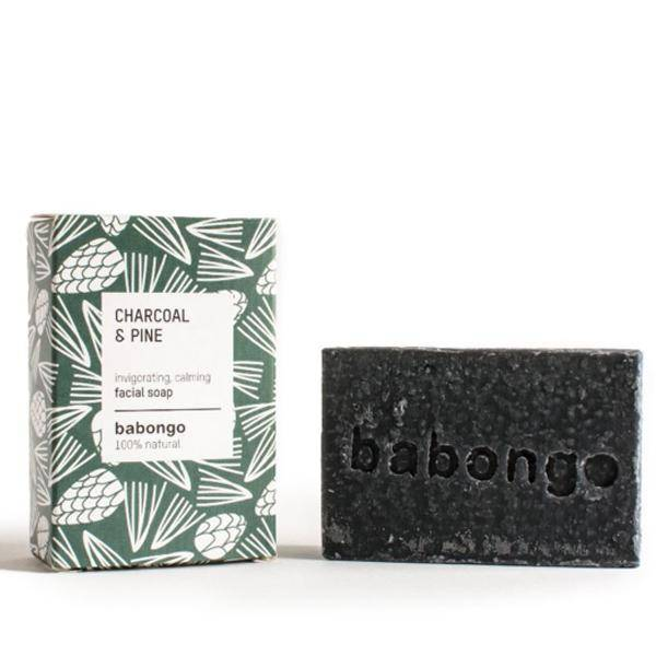 Bilde av Babongo facial soap Charcoal & Pine
