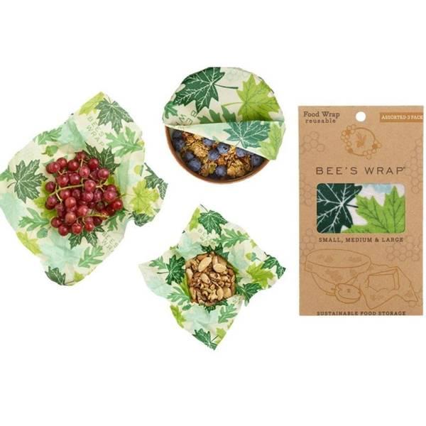 Bilde av Bees Wrap - Assorted 3 pack Forest Floor